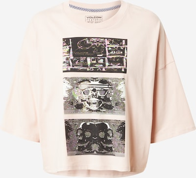 Volcom Shirt in de kleur Crème / Lichtgeel / Lichtgroen / Lichtroze / Zwart, Productweergave