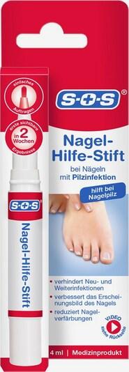 SOS Nagel-Hilfe-Stift in rot / weiß, Produktansicht