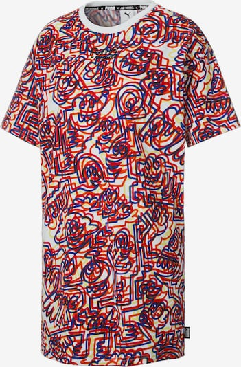 PUMA Kleid in blau / gelb / rot / weiß, Produktansicht