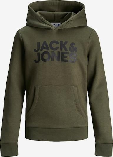 Jack & Jones Junior Sweatshirt in dunkelgrün, Produktansicht