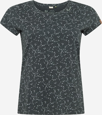 Ragwear Plus T-Shirt 'MINT' in dunkelgrau / weiß, Produktansicht