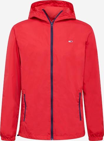 Tommy Jeans Between-Season Jacket in Red