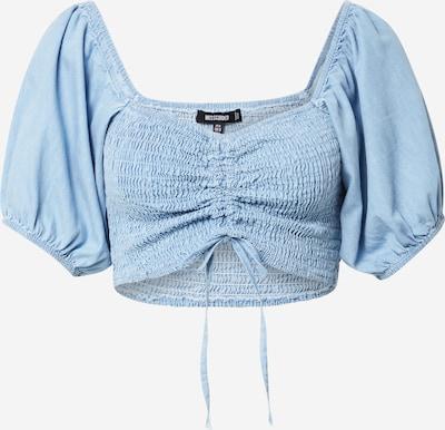 Tricou 'CHAMBRAY' Missguided pe albastru deschis, Vizualizare produs