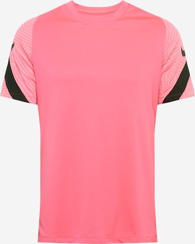 NIKE Functioneel shirt 'Strike' in de kleur Pink / Zwart, Productweergave