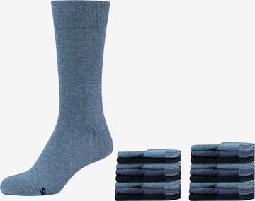 SKECHERS Socks 'Austin, 18er-Pack' in Blue