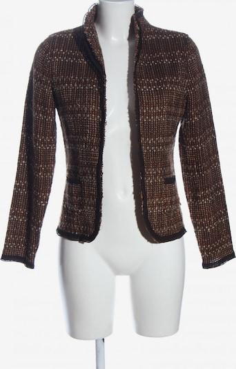 Dibari Tweedblazer in S in braun / rot / wollweiß, Produktansicht