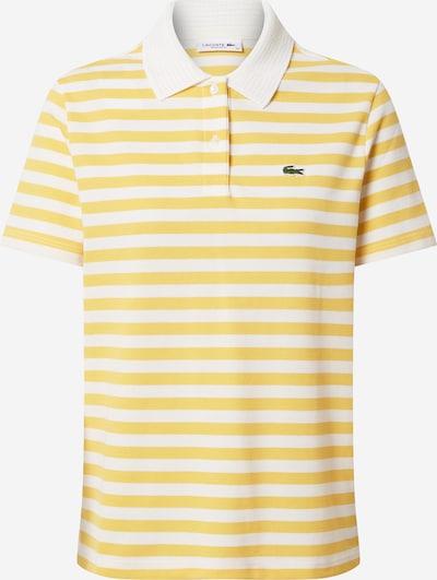 sárga / fehér LACOSTE Póló, Termék nézet