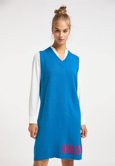 MYMO Kleid in blau: Frontalansicht