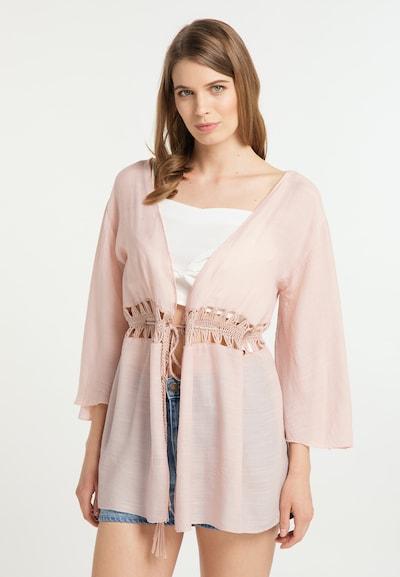 Usha Shirt in rosa, Modelansicht