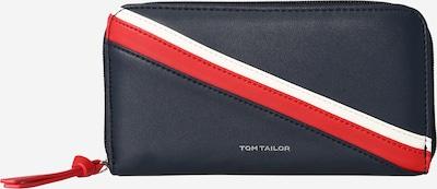 TOM TAILOR Portemonnaie 'Isabel' in navy / rot / weiß, Produktansicht