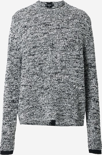 OPUS Pullover 'Puala' in schwarzmeliert, Produktansicht