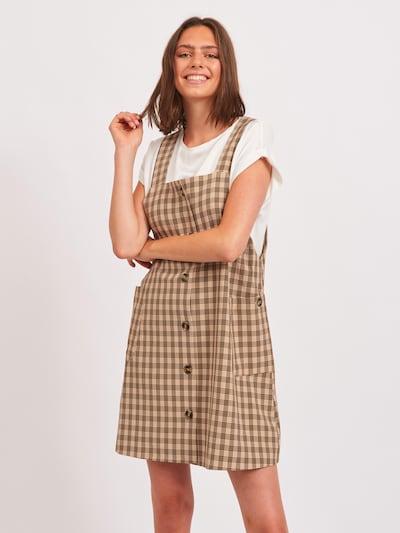 Rochie 'Vilan' VILA pe bej / maro deschis / negru, Vizualizare model
