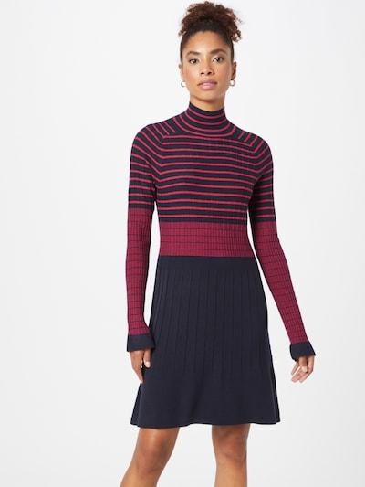 MAX&Co. Šaty 'SCHIUMA' - tmavě modrá / tmavě růžová, Model/ka