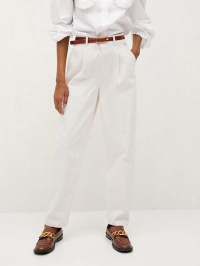 MANGO Jeans 'Corinna' in white denim, Modelansicht