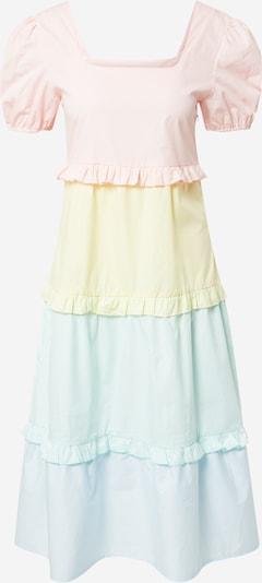 Daisy Street Kleid in hellblau / gelb / mint / rosa, Produktansicht