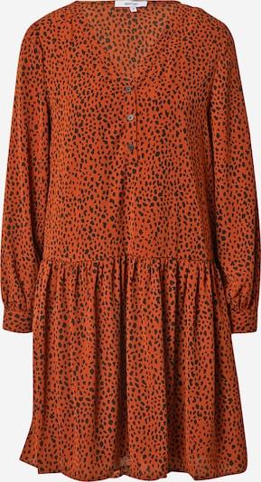 ABOUT YOU Robe 'Larina' en marron / noir, Vue avec produit
