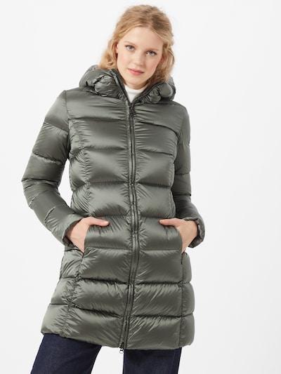 Žieminis paltas iš Colmar, spalva – rusvai žalia, Modelio vaizdas