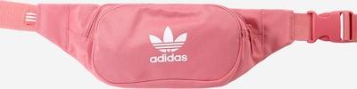 ADIDAS ORIGINALS Riñonera en rosé / blanco, Vista del producto