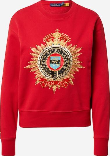 POLO RALPH LAUREN Sweatshirt i blå / guld / grön / röd, Produktvy
