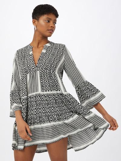 ONLY Kleid 'ATHENA' in schwarz / weiß, Modelansicht
