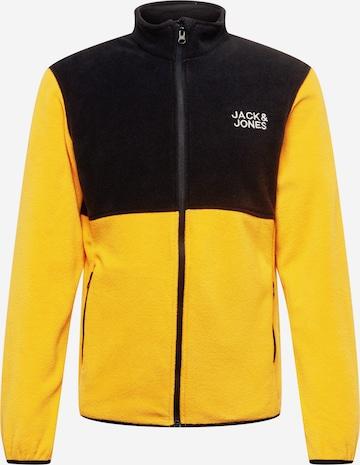 Veste en polaire 'HYPE' JACK & JONES en orange