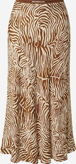 Samsoe Samsoe Rok 'Alsop' in de kleur Taupe / Karamel, Productweergave