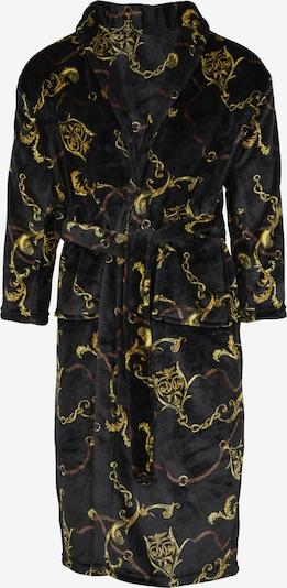Urban Classics Badjas lang  in de kleur Goud / Zwart, Productweergave