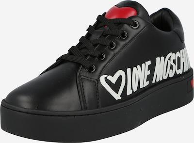 Love Moschino Nízke tenisky - červená / čierna / biela, Produkt