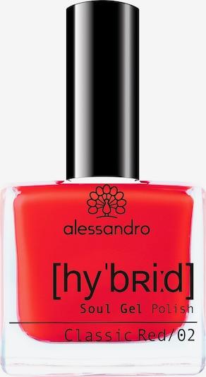 alessandro INTERNATIONAL Nagellack in rot, Produktansicht