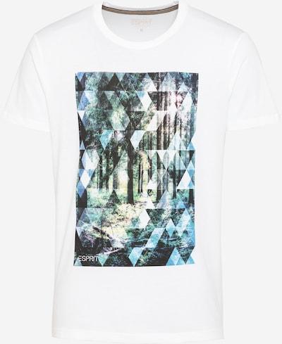 ESPRIT T-Shirt en mélange de couleurs / blanc cassé, Vue avec produit
