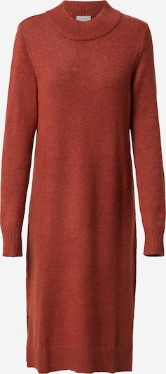 VILA Плетена рокля в ръждиво кафяво, Преглед на продукта