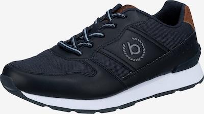 bugatti Sneaker ' Soho ' in pastellblau / dunkelblau / cognac, Produktansicht