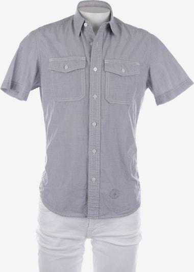 Marc O'Polo Freizeithemd / Shirt / Polohemd langarm in S in hellgrau, Produktansicht