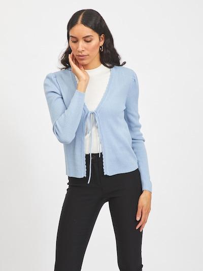 VILA Kardigan 'VIPOPSA' w kolorze jasnoniebieskim, Podgląd na modelu(-ce)