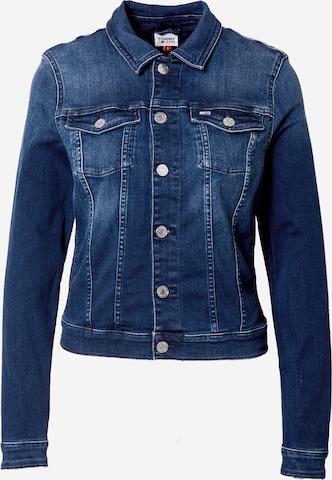 Tommy Jeans Between-Season Jacket 'Vivianne' in Blue