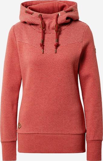 Ragwear Sweatshirt 'Nuggie' in rostrot, Produktansicht