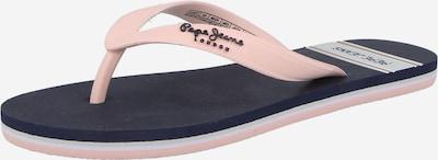 Flip-flops 'BAY' Pepe Jeans pe navy / roz, Vizualizare produs