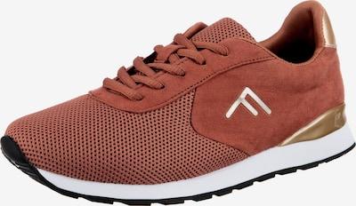 Freyling Sneaker in braun / rostbraun / gold, Produktansicht