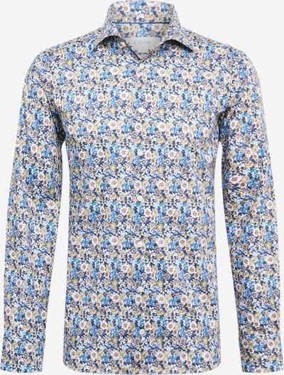 ETON Hemd in beige / blau / weiß, Produktansicht