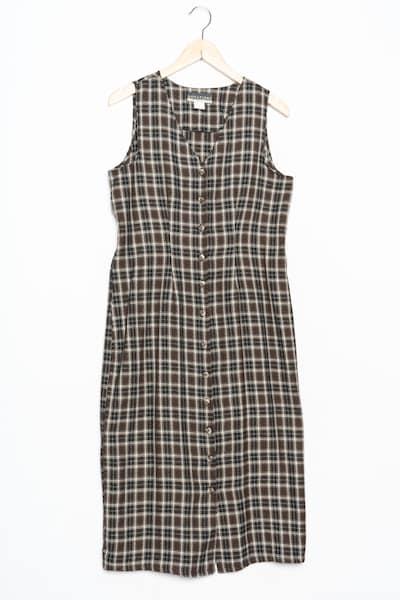 Notations Kleid in XXL in mischfarben, Produktansicht