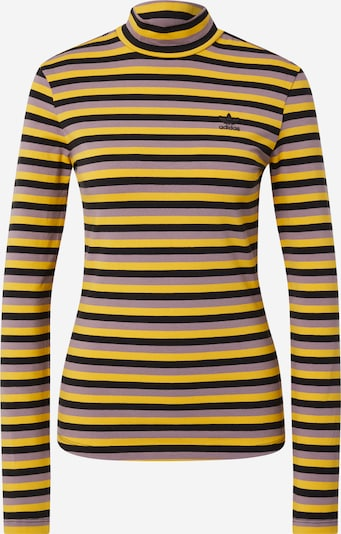 ADIDAS ORIGINALS Shirt in gelb / lila / schwarz, Produktansicht