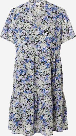 JDY Robe-chemise 'SPRING' en gris / violet / mélange de couleurs / noir, Vue avec produit
