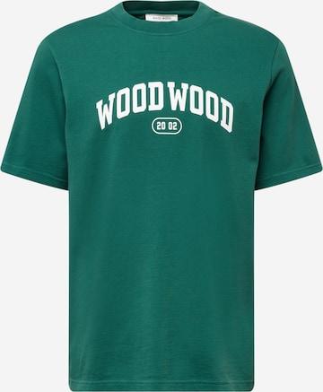 T-Shirt 'Bobby IVY' WOOD WOOD en vert