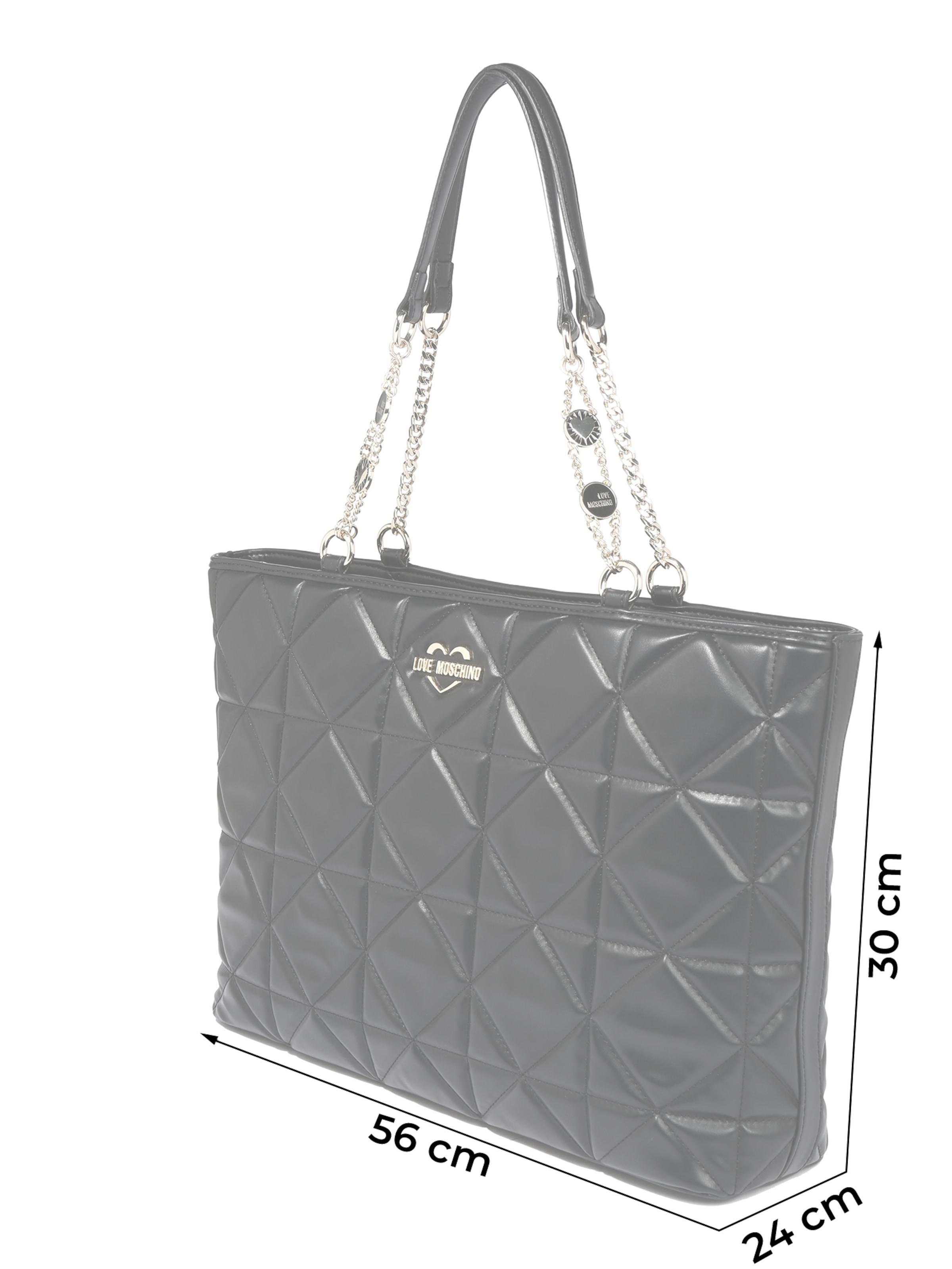 Love Moschino Tasche in schwarz