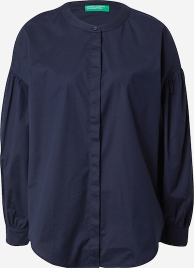 UNITED COLORS OF BENETTON Блуза в тъмносиньо: Изглед отпред