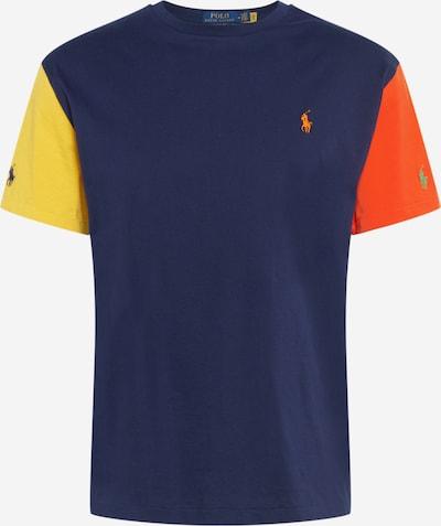 POLO RALPH LAUREN Camiseta en navy / amarillo / verde / naranja oscuro, Vista del producto