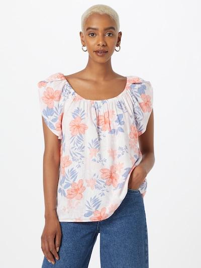 Bluză GAP pe albastru / roșu / alb, Vizualizare model