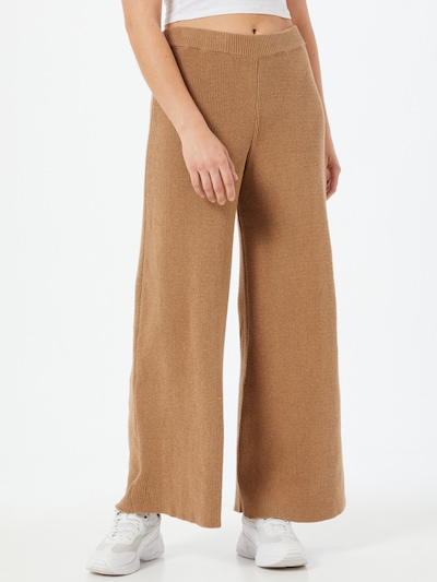 NU-IN Kalhoty - hnědá, Model/ka