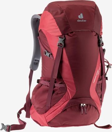DEUTER Sports Backpack in Purple