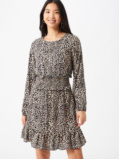 Dorothy Perkins Kleid in beige / schwarz, Modelansicht
